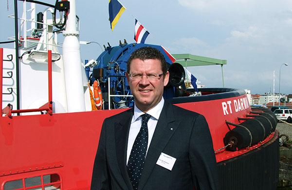 Ard-Jan Koren, CEO des Schlepperfamilienunternehmens Kotug.