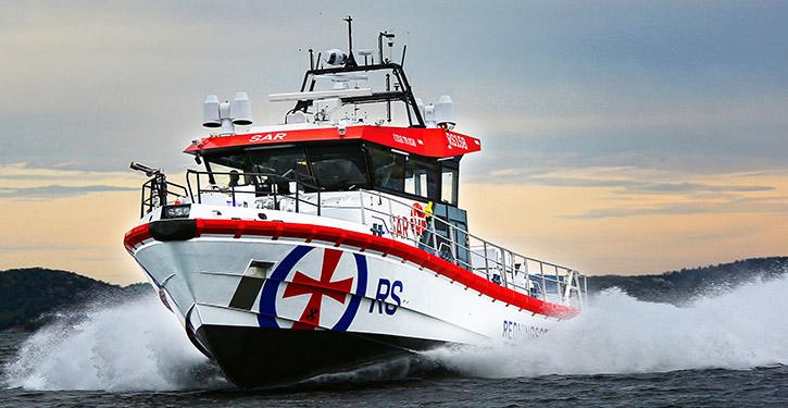 Norwegian Sea Rescue Neubau RS IDAR ULSTEIN.