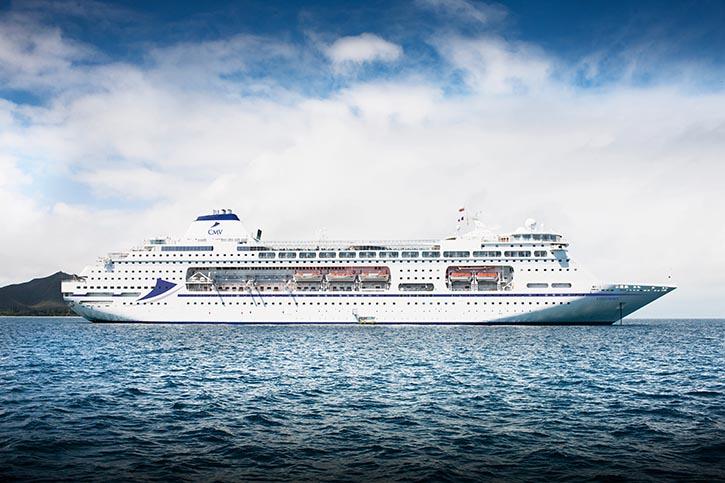Die COLUMBUS wird 2017 das neue Flaggschiff von Cruise and Maritime Voyages.
