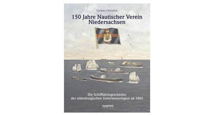 Buchcover 150 Jahre Nautischer Verein Niedersachsen.