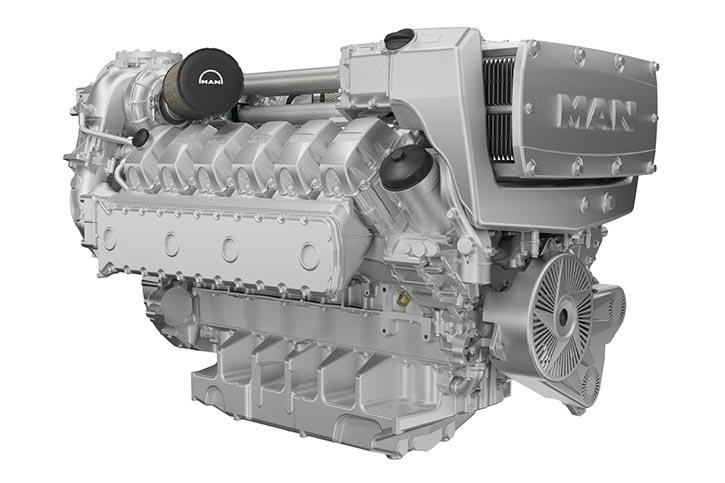MAN Diesel D2862LE422.