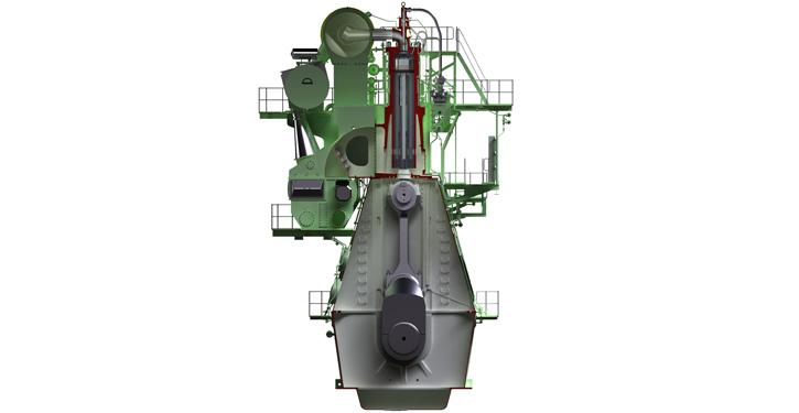 Abbildung des G80ME-C9-Motors