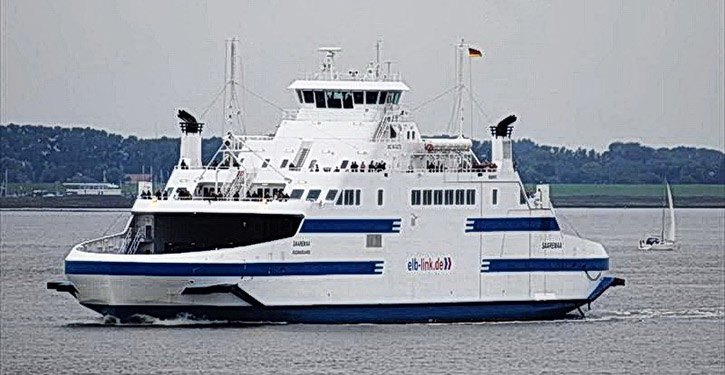 Fährschiff MS ANNE-MARIE.