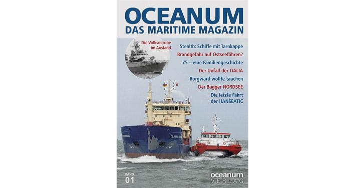 Cover OCEANUM – Das maritime Magazin.
