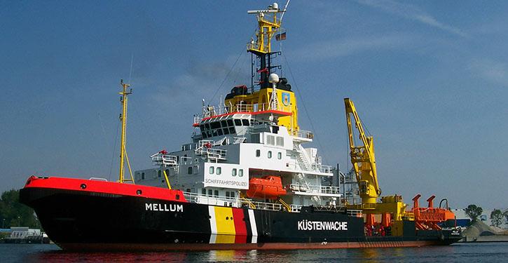 Die MELLUM wurde 1984 unter der BN 406 auf der Elsflether Werft gebaut und soll nun durch einen Neubau ersetzt werden