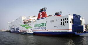"""Fährschiff """"Germanica"""" der Stena Line."""