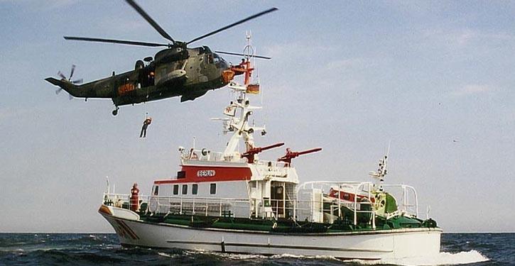 Krankentransport mit dem Helikopter