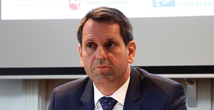 Olaf Lies, Wirtschafts- und Hafenminister Niedersachsen.