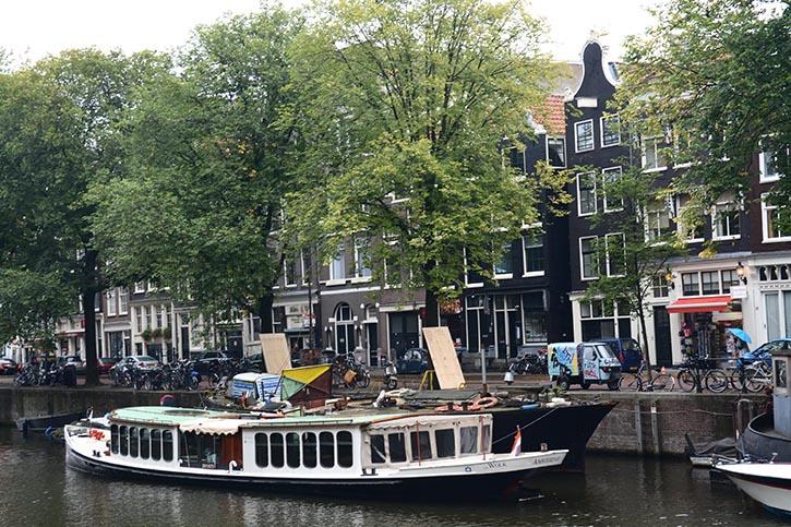 Grachten in Amsterdam.