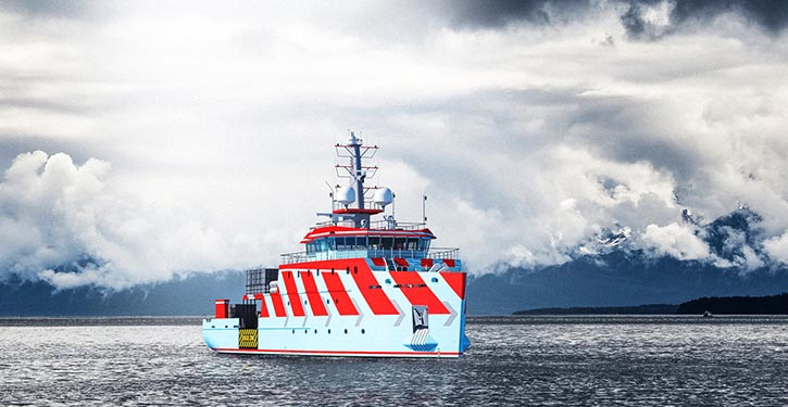 Damen's Line Assistance Vessel is based on the successful Multi Purpose Vessel (MPV) 5413.