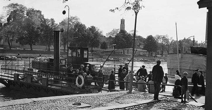 1936 fuhr die FÖRI noch mit Dampfmaschinen.