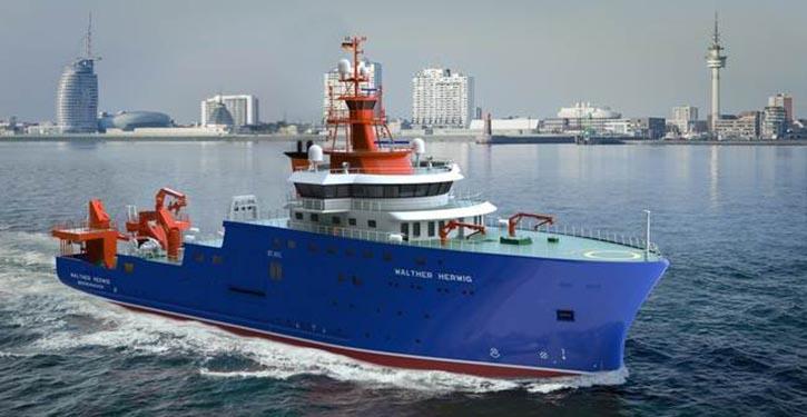 Fischerei-Forschungsschiff MS WALTHER HERWIG
