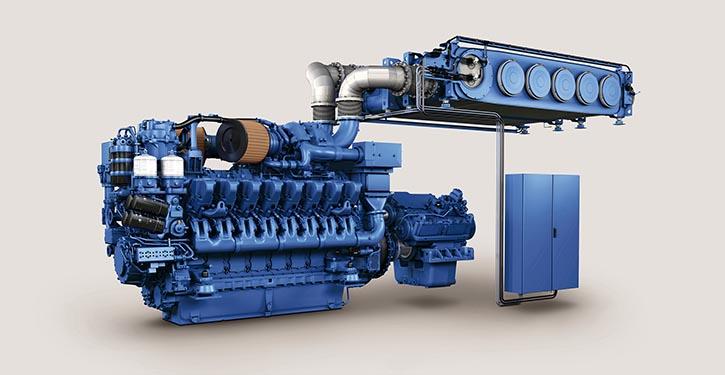 MTU Serie 4000 SRC
