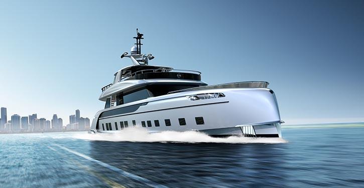 MAN-Motoren V12-1650 mit jeweils 1.213 kW brillieren bei sportlicher Fahrweise und beim Cruisen.