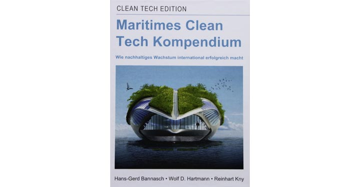 Buchcover Maritimes Clean Tech Kompendium.