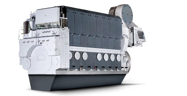 MAN 21/31 engine.
