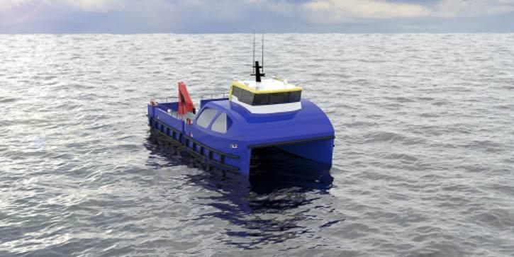 The ProZero Catamaran.