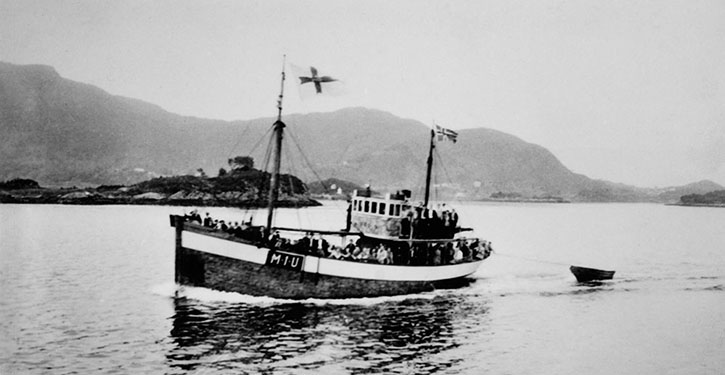 HOD was the first boat build from scratch in the village of Ulstein.