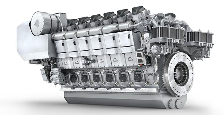 The 12V45/60CR for marine application delivers 15,600 kW at 600 rpm.