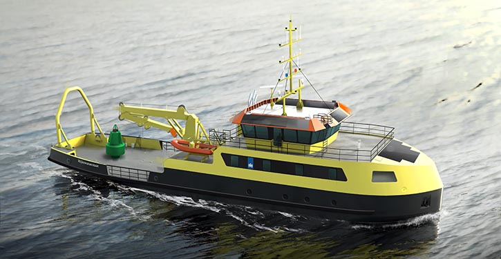 Multi Purpose Hybrid Vessel.