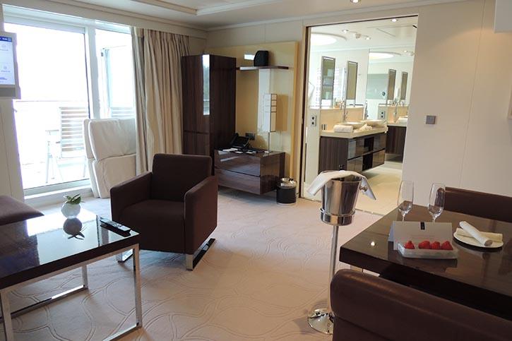 Blick in die Owner-Suite Deck 10