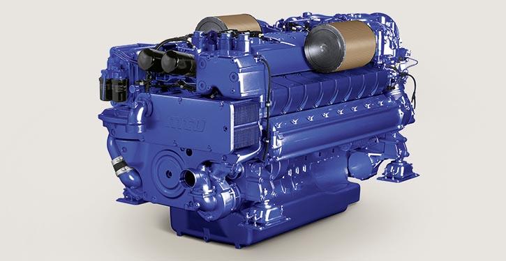 Baureihe-2000-Motor von MTU