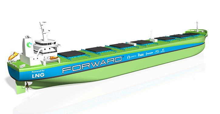 New generation of bulk carriers developed by Project Forward.