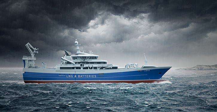Abbildung des Ringwaden-Neubaus. © Salt Ship Design
