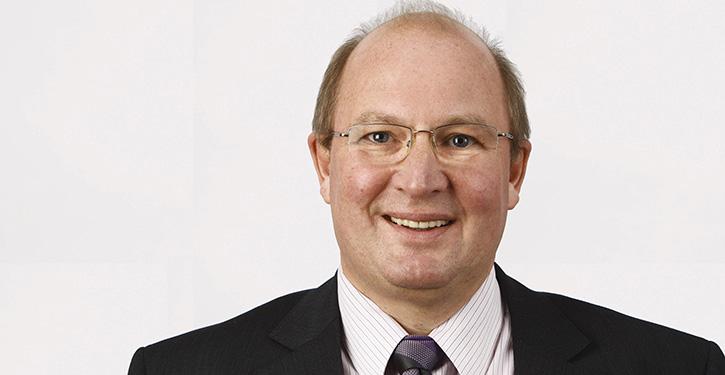 Der wiedergewählte Vorsitzer der SDN Landrat Dieter Harrsen (©SDN)