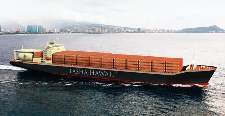 PashaHawaii-Ohana-Class Containerschiff