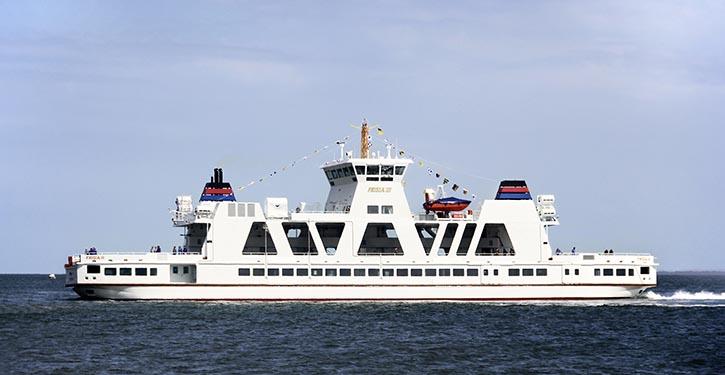 Doppelendfähre der Norden-Frisia AG