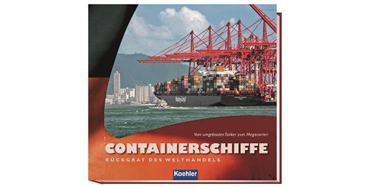 Buchcover Containerschiffe. © Verlag