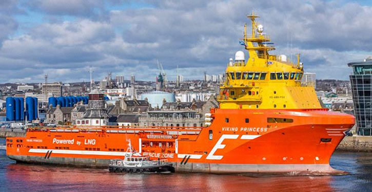 VIKING PRINCESS runs successfully on batteries and saves 1 to of fuel in 24 hrs