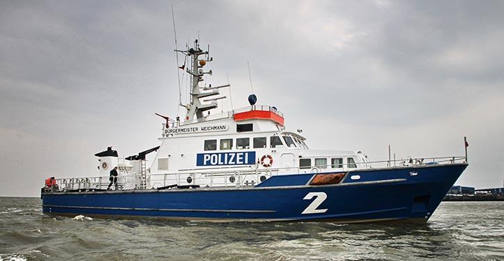Polizeiboot. © Pospiech