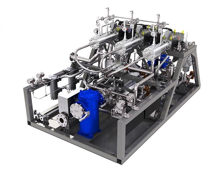 Hochdruck-Pumpen-Verdampfersystem (VPU-System) von MAN SE