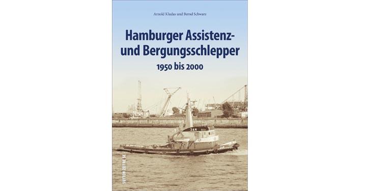 Buchcover Hamburger Bergungsschlepper
