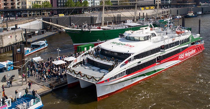 HALUNDER JET der Förde Reederei Seetouristik
