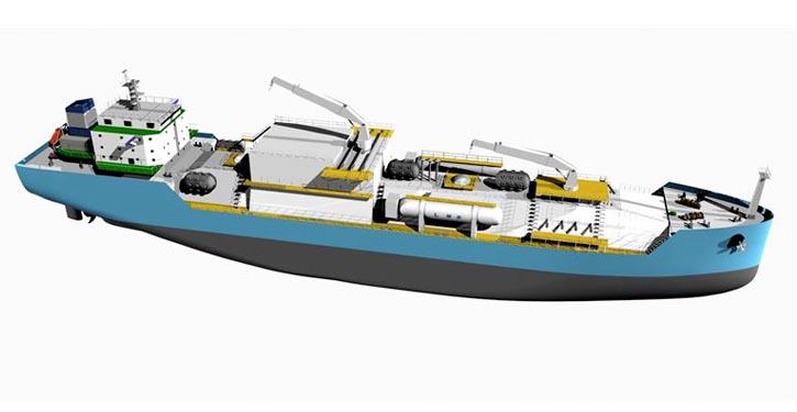 chinesische LNG-Bunkerschiff wird mit Wärtsilä-Antriebsmaschinen