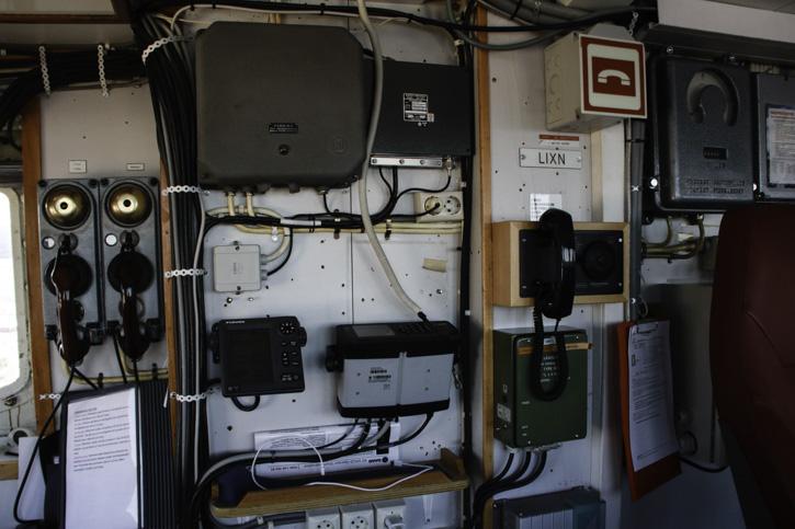 Technische Ausrüstung auf der MS LOFOTEN