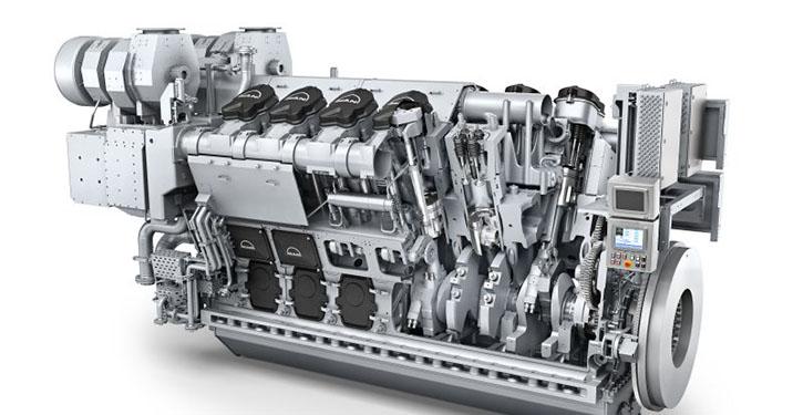 MAN 12V32/44CR engine