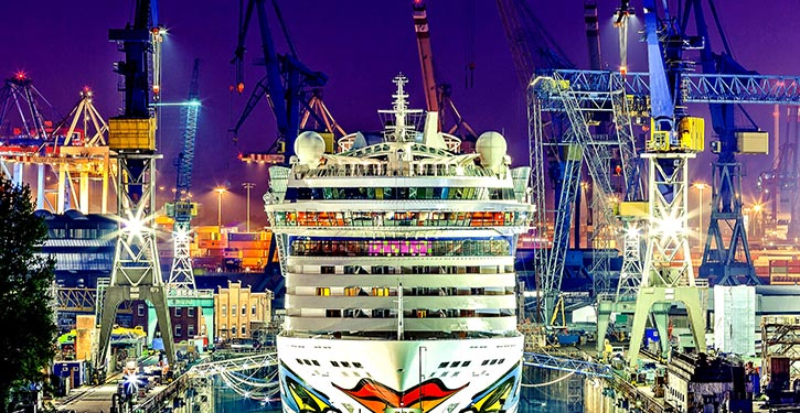 AIDAluna, die 2014 das erste Schiff der Flotte von AIDA Cruises