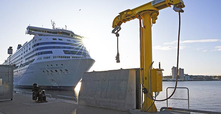Ports of Stockholm will offer shore power for cruise vessels