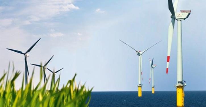 Offshore-Windanlage