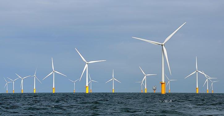 Der Windpark North2 soll jährlich bis zu 4 GW Strom erzeugt werden