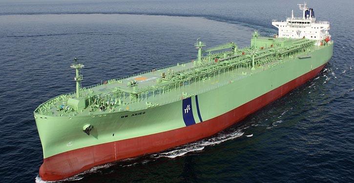 LPG-Tanker der Reederei BW LPG