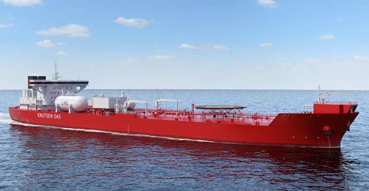 KNOT Shuttle-Tanker mit CO2-reduzierender Technik