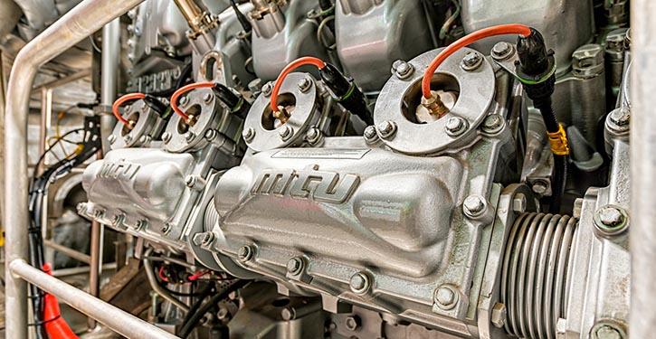 MTU-Gasmotoren mit guten Betriebsergebnissen