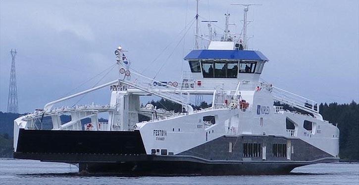 Jede der vier neuen Fähren für Norled, von denen die FESTOYA bereits im Einsatz ist, erhält zwei EcoPeller von Schottel.