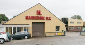 Verwaltungsgebäude und Logistik der Markerink B.V. im holländischen Tolkamer. © P.Pospiech