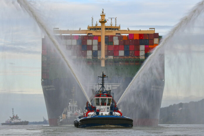 HMM ALGECIRAS, Reederei Hyundai Merchant Marine, Süd-Korea